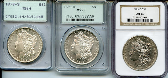 Morgan Dollars (3)