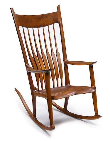 Sam Maloof (American, 1916-2009) Rocking Chair
