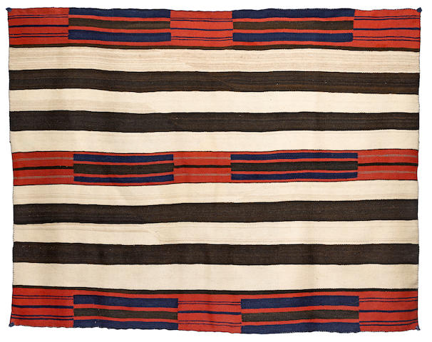 A Navajo classic chief's blanket