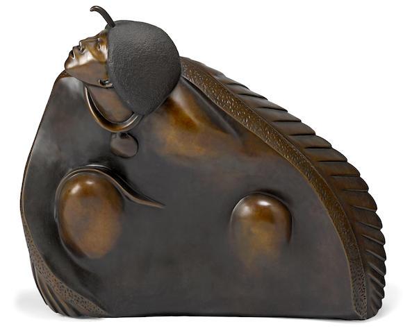 An Allan Houser sculpture