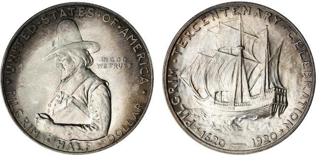 1920 Pilgrim Tercentenary Half Dollars (7)