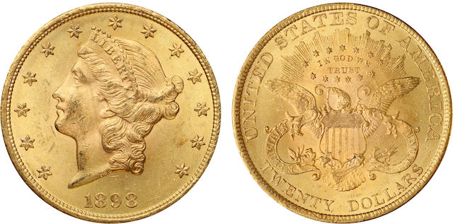 1898 $20