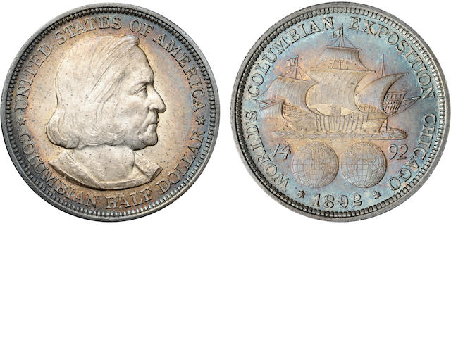 Columbian Exposition Half Dollars (4)