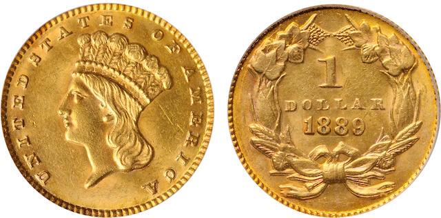 1889 G$1 MS62 PCGS