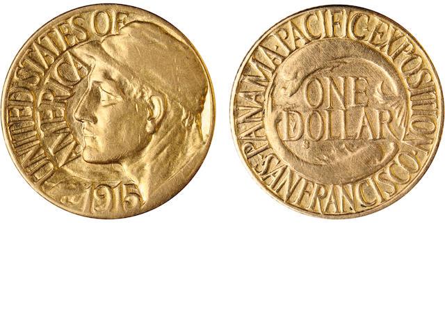 1915-S Panama-Pacific G$1