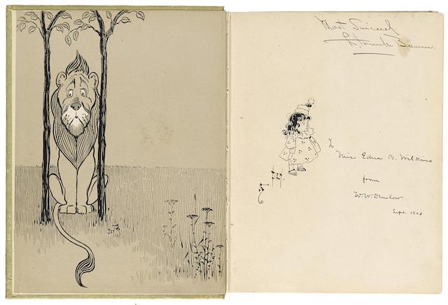 BAUM, L. FRANK. 1856-1919. The Wonderful Wizard of Oz. Chicago & New York: Geo. M. Hill Co., 1900.