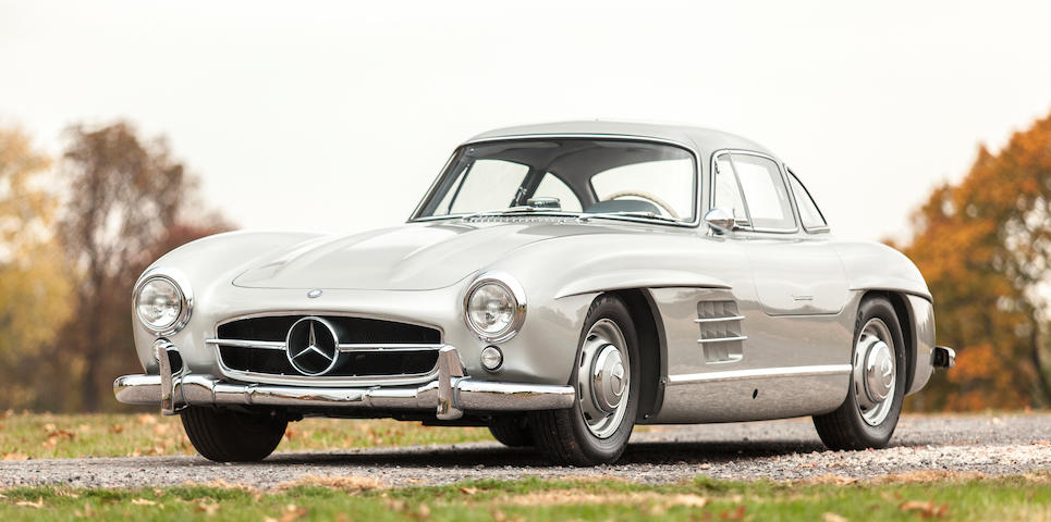 1955  Mercedes-Benz 300SL Gullwing Coupe  Chassis no. 198040.5500594 Engine no. 198980.5500621