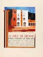 EXTER, ALEXANDRA. 1882-1949. FRANCE, ANATOLE. Mystère du Sang. Paris, June 1, 1941.