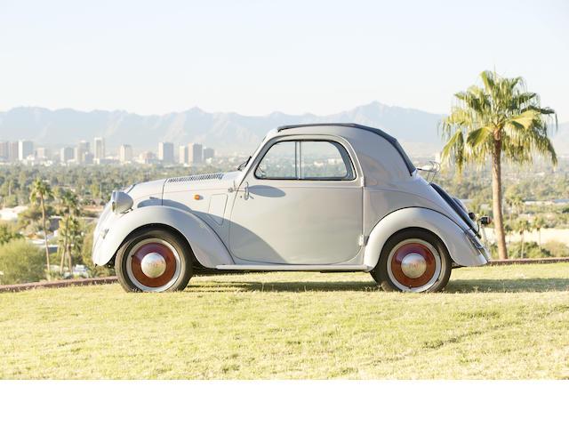 <b>1948  Fiat 500B Topolino Cabriolet  </b><br />Chassis no. 500B 134881 <br />Engine no. 131699