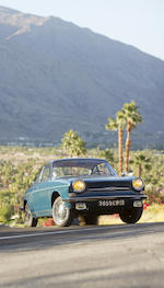 <i>The 2013 Quail, A Motorsports Gathering HVA / FIVA Most Well Preserved Car Award Winner</i><br /><B>1967 Simca 1000 Coupe  </b><br />Chassis no. 154970