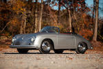 <b>1957 Porsche  356A 1600 Speedster  </b><br />Chassis no. 84142 <br />Engine no. 17193 (see text)