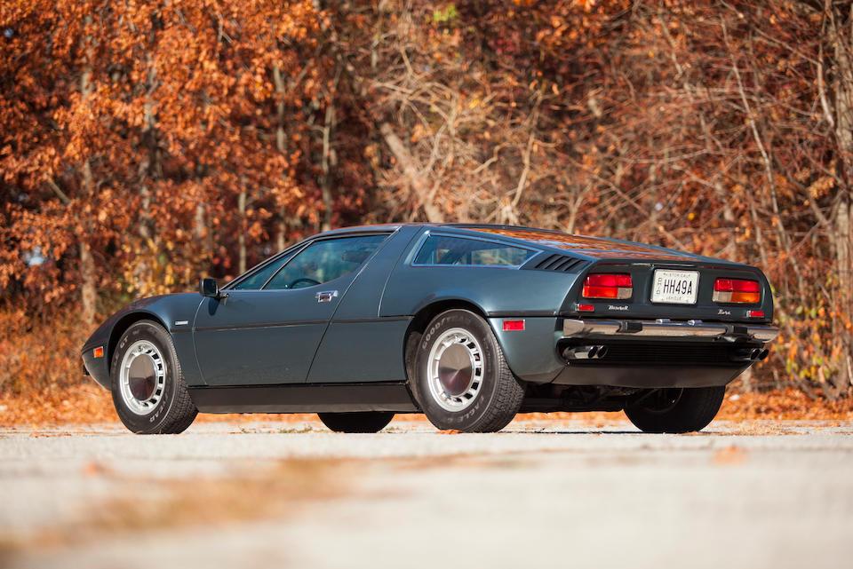 <b>1973 Maserati Bora  </b><br />Chassis no. AM117 49US652 <br />Engine no. AM107 1149648 (see text)