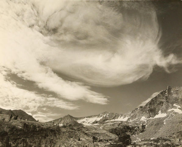 Ansel Adams (American, 1902-1984); Three Plates, Kings River Canyon National Park; (3)