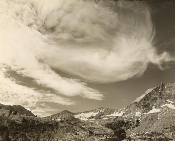 Ansel Adams (American, 1902-1984); Three Plates, Kings River Canyon National Park; (3)