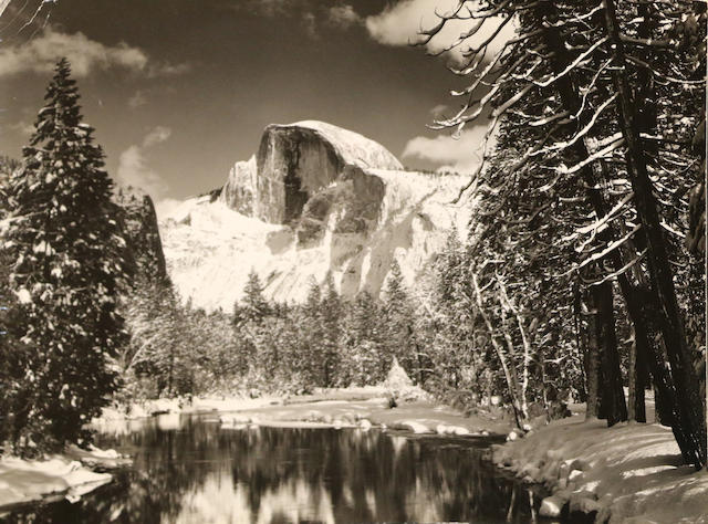 Ansel Adams (American, 1902-1984); Half Dome; Tuolumne Meadow, Yosemite National Park; (2)