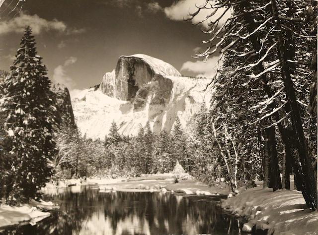 Ansel Adams (American, 1902-1984); Half Dome; Tuolumne Meadow, Yosemite National Park; (2)
