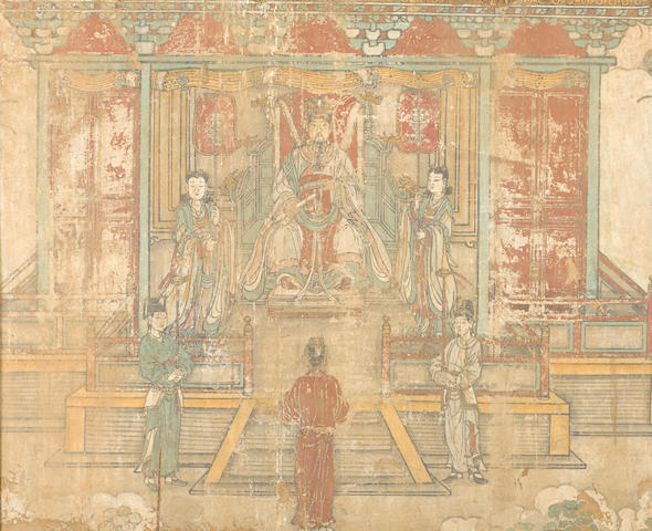 Anonymous (19th/20th century) An Audience with the Jade Emperor