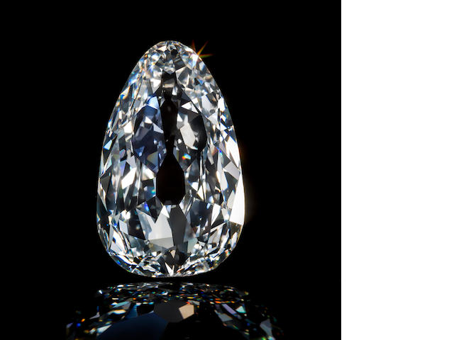 A rare unmounted diamond