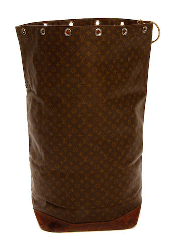 A Louis Vuitton monogram Sac Marin travel bag