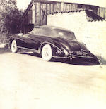 <b>1950 Delahaye 135 M Cabriolet Atlas  </b><br />Chassis no. 801636 <br />Engine no. 801636