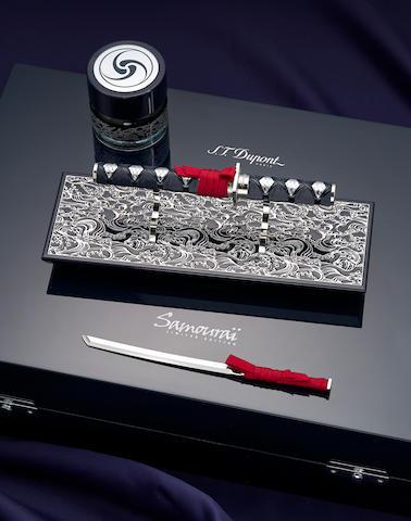 DUPONT: Samourai [Samurai] Neo-Classique President Limited Edition 288 Fountain Pen