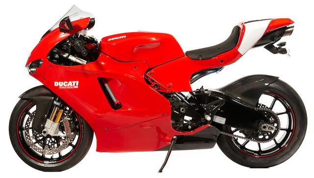2008 Ducati Desmosidici Frame no. ZDM1ZDFW98B000449 Engine no. ZDF8000577