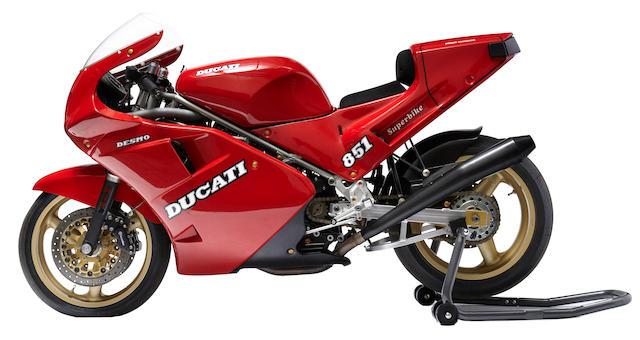 1991 Ducati 851 Lucchinelli Race Replica