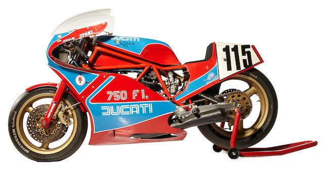 The ex-Pablo Real,1984 Ducati TT1
