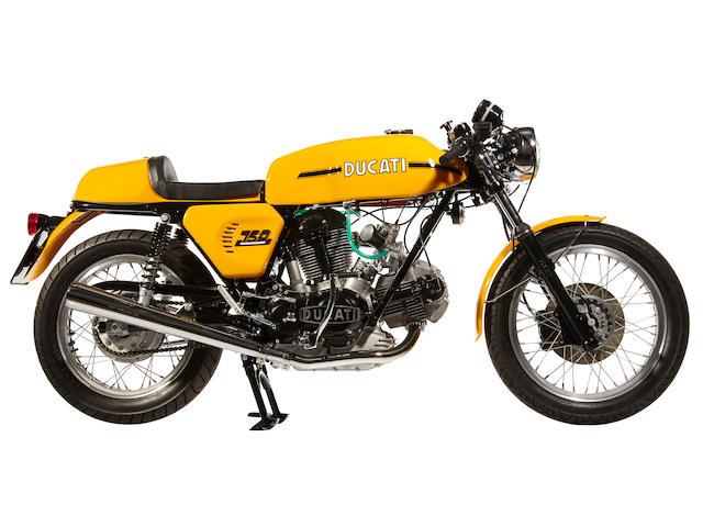 1973 Sport Desmo 750 (Yellow)