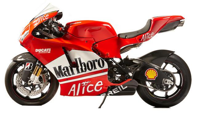 2008 Ducati Desmosidici Frame no. ZDM1ZDFW68B000442
