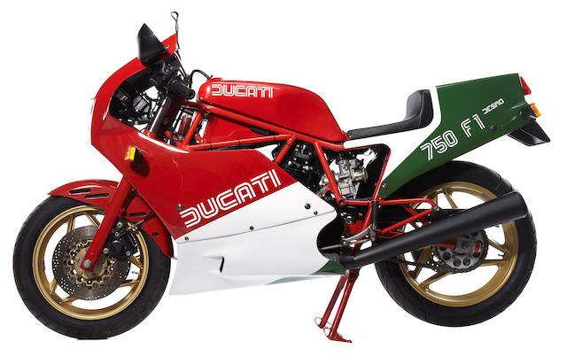1988 Ducati 750 F1A Desmo
