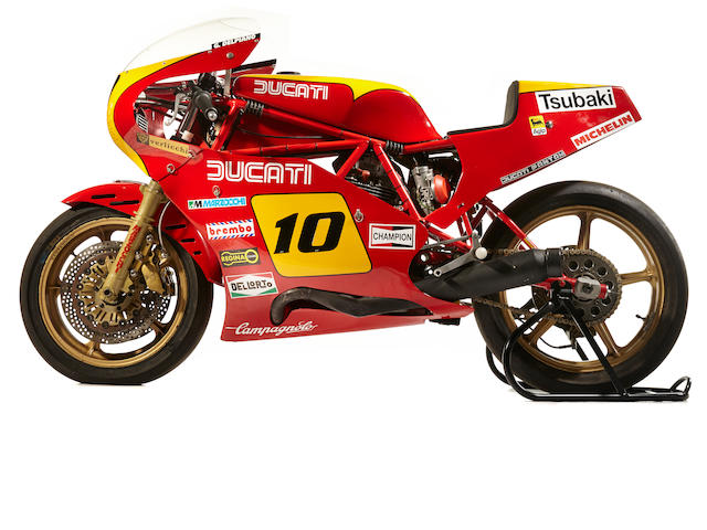The ex-Guido Del Piano,1981  Ducati TT2