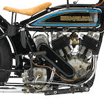1928 Husqvarna Twin Frame no. 3867 Engine no. 3867