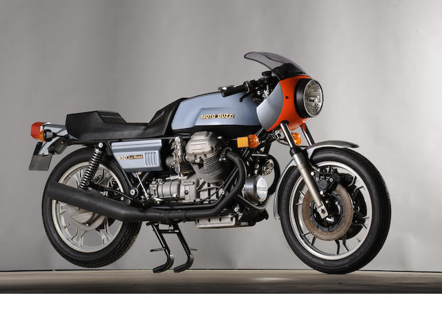 1976 Moto Guzzi 850cc Le Mans Frame no. 70455 Engine no. 70455