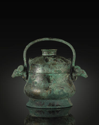 An archaic bronze vessel, you Early Western Zhou period