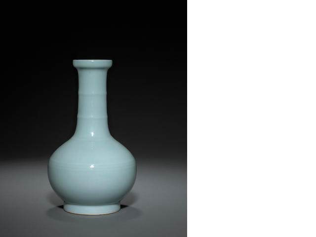 A fine Ruyao-type vase Qianlong mark and of the period
