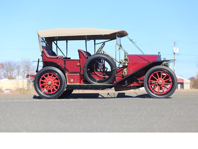 <i>Ex-Leo Peters, Rick Carroll, Dr. F.M. Brunemeier and Richard King</i><br /><b>1910 Simplex 50HP Toy Tonneau  </b><br />Chassis no. 50 - 10351