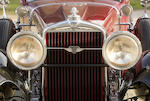 <b>1929 Stutz Model M Monte Carlo  </b><br />Chassis no. M854CD223 <br />Engine no. 32523