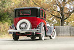<b>1933 Stutz SV-16 Five-Passenger Sedan </b><br />Design by LeBaron  <br />Chassis no. SV-21-1538 <br />Engine no. 33249