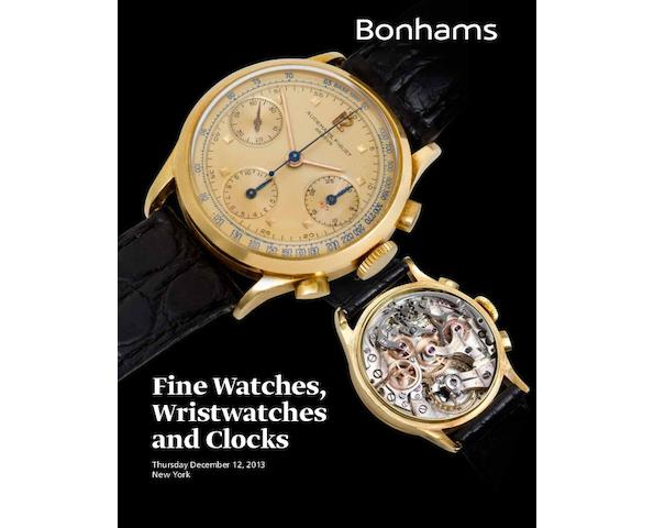 Fine Watches, Wristwatches & Clocks