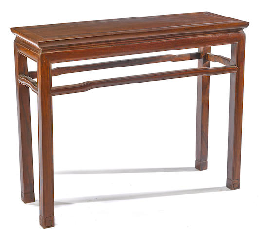 A hongmu side table