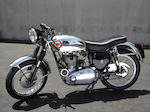1958 BSA Gold Star Engine no. DBD34 GS2921