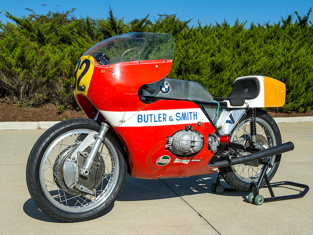 1971  BMW  F750 Butler & Smith Factory Racer Engine no. 001 298280X