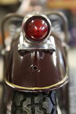 """""""Garage-find"""" Thunderbird bob-job painted by Von Dutch & Featured in the """"Art of Von Dutch"""",1949 Triumph 6T Bobber Frame no. 100666 Engine no. 6T100666N"""