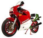 1987 Ducati 750 F1 Desmo Frame no. ZDM3AA3L0HB751495
