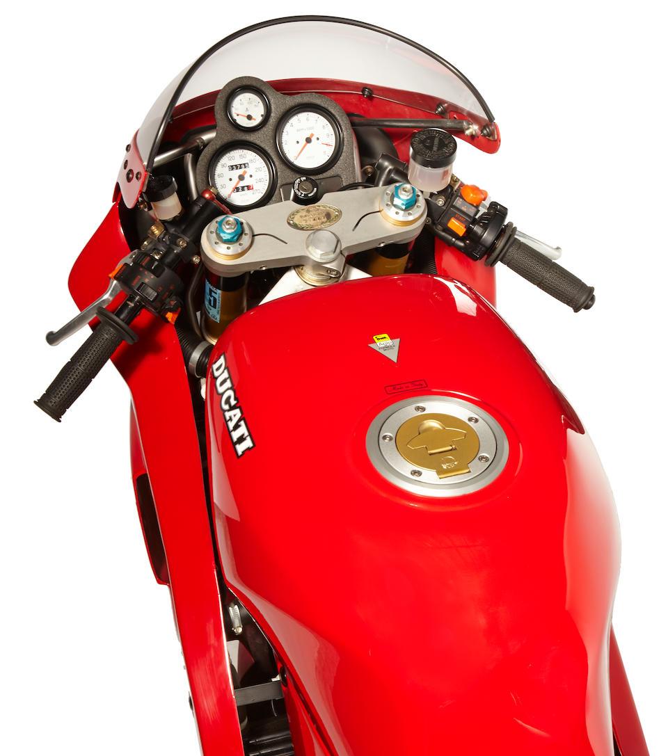 1991 Ducati 851 SP3 Street Frame no. ZDM888S000867