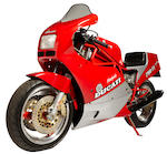 1986 Ducati 750 F1 Montjuich Frame no. ZDM3EA3R9GB000158