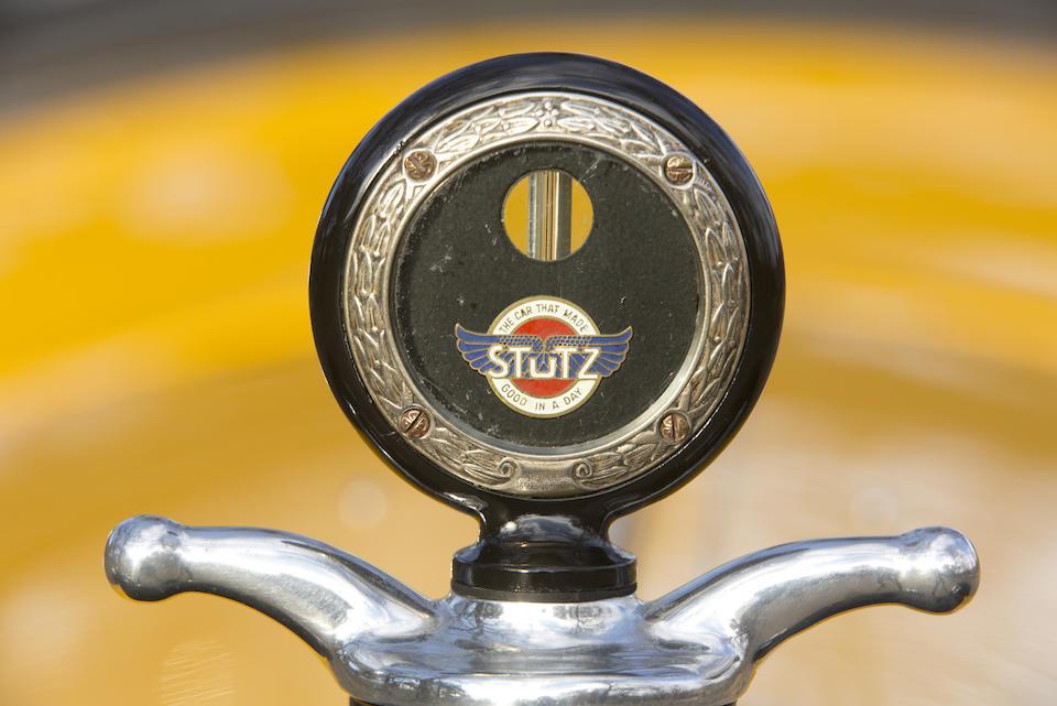 "<i>Ex-""Val"" Valentine </i><br /><b>1920 Stutz Series H Bearcat  </b><br />Chassis no. 5067 <br />Engine no. 5122"