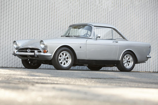 <b>1966 Sunbeam Tiger Series I  </b><br />Chassis no. B382001478 LRXFE <br />Engine no. 6322 B19KC