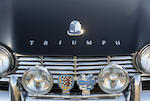<i>The ex-Donald Osborne</i><br /><b>1962 Triumph TR4 'Surrey Top'</b><br />Design by Giovanni Michelotti   <br />Chassis no. CT10529L <br />Engine no. TCF1378E